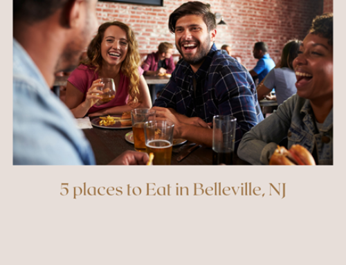 5 Places to eat in Belleville, NJ
